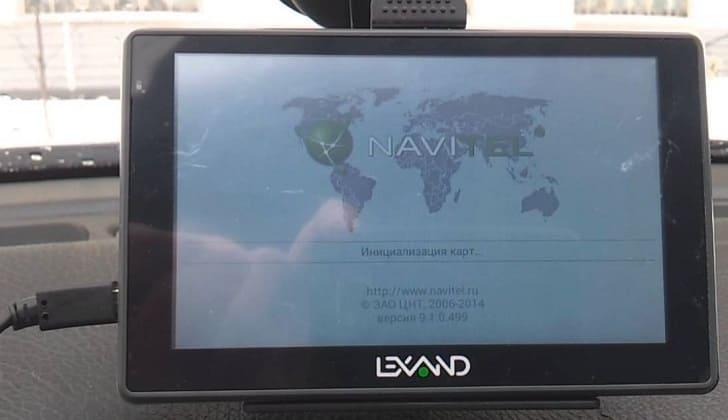 Авто-навигатор LEXAND SA5 HD+