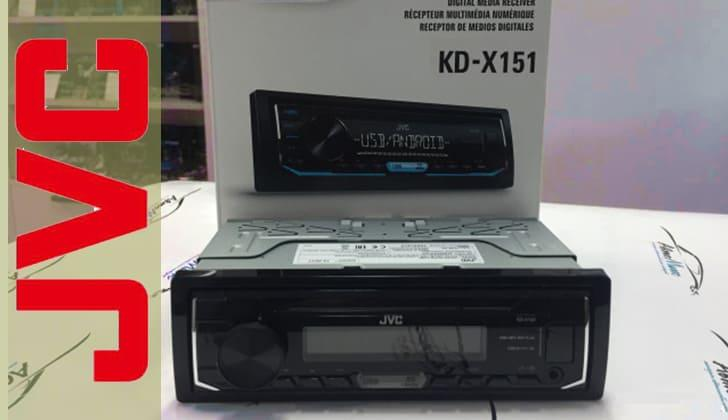 Автомагнитола JVC KD-X151