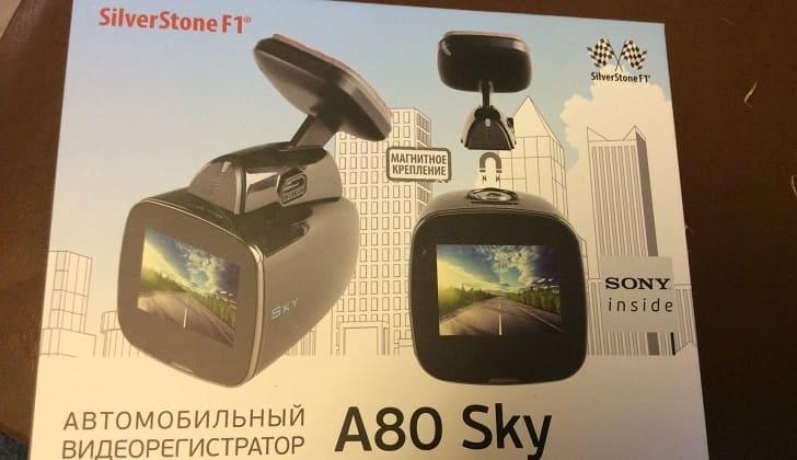 Автомобильный гаджет SilverStone F1 A80-GPS Sky в коробке