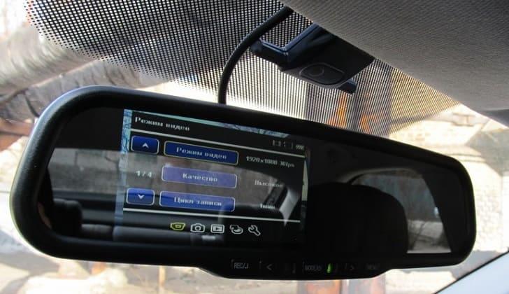Автомобильный регистратор зеркало