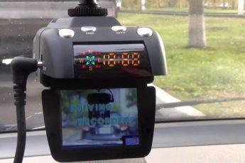 Авторегистратор с радаром