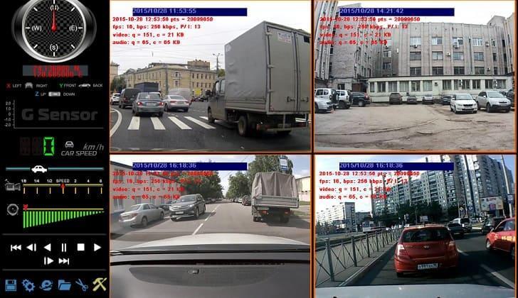 Картинки со всех 4-х сторон с Proline PR-MR8216