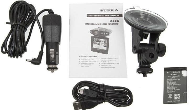 Комплектация к Supra SCR-800