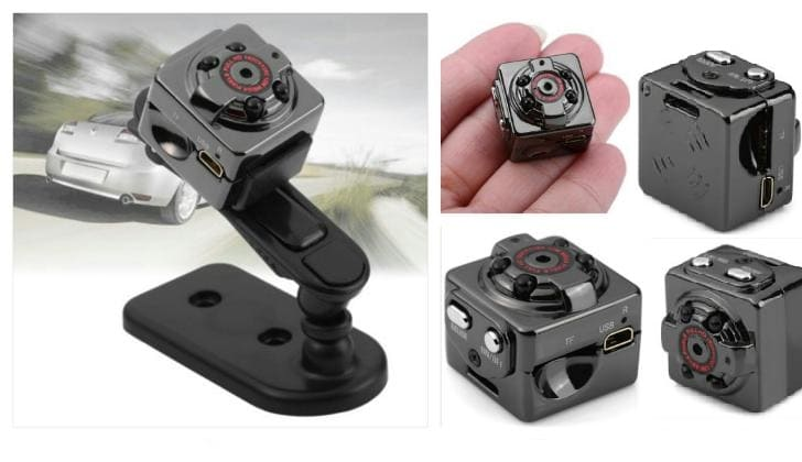 Мини-камера разные ракурсы
