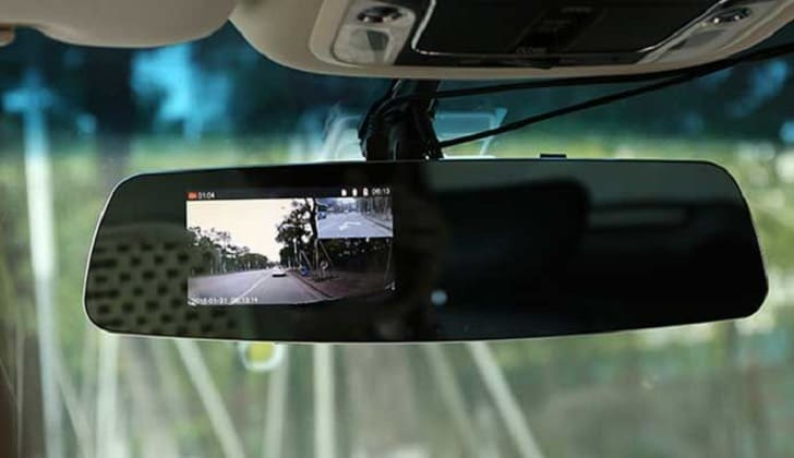 Модель CAR DVR's mirror