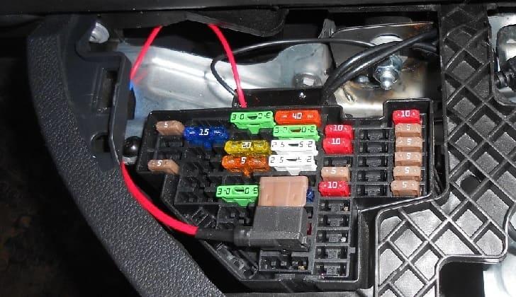 Подключение к аккумулятору