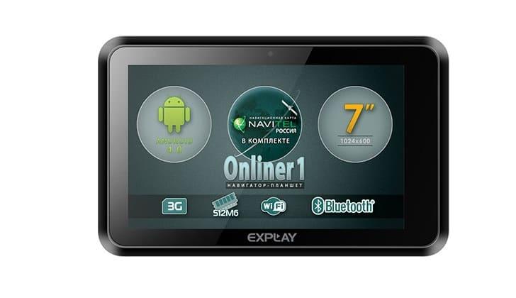 Регистратор Explay Onliner1