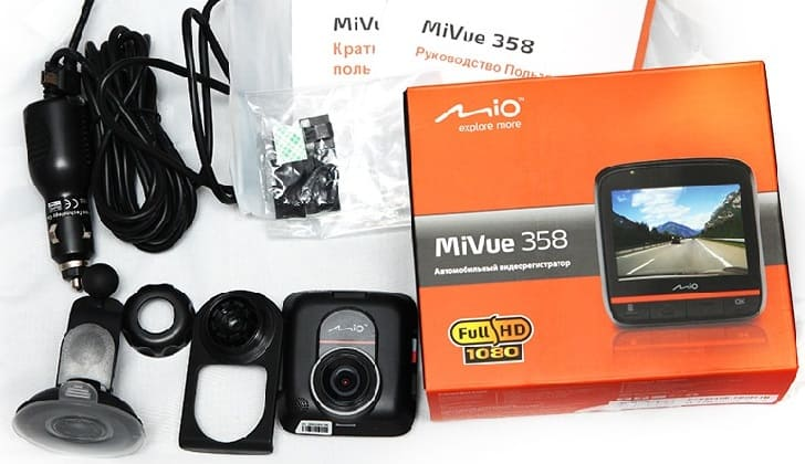 Регистратор Mivue 358