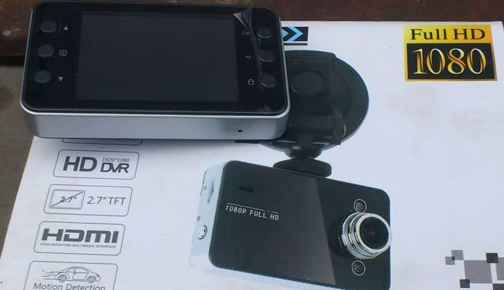 Регистратор с расширением FULL HD1080p