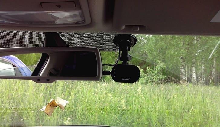 SHO-ME HD-34 в салоне авто