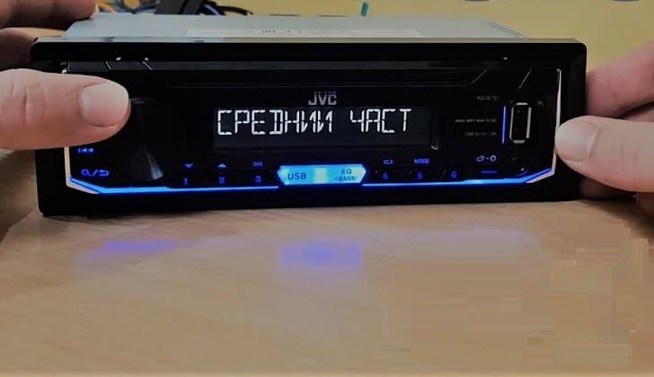 Текст цифрового ресивера на русском