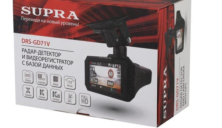 Упаковка Supra GD71V