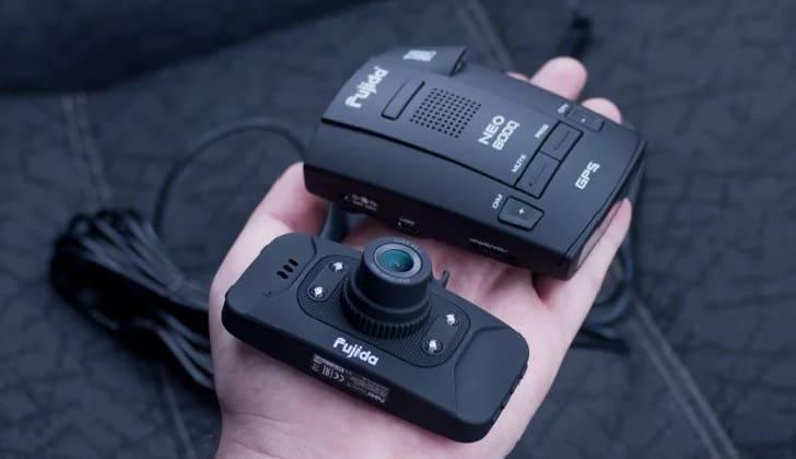 Видеорегистратор на руке