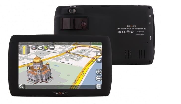 Видеорегистратор с детектором-антирадаром TeXet TN-833 RDVR HD