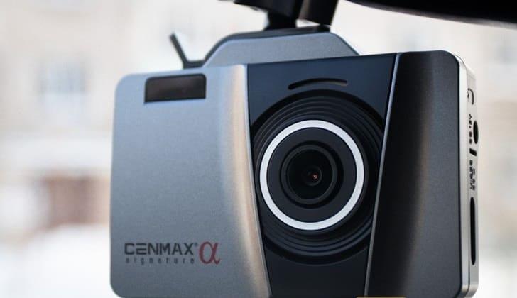 Видеорегистратор в авто Cenmax Alfa Signature