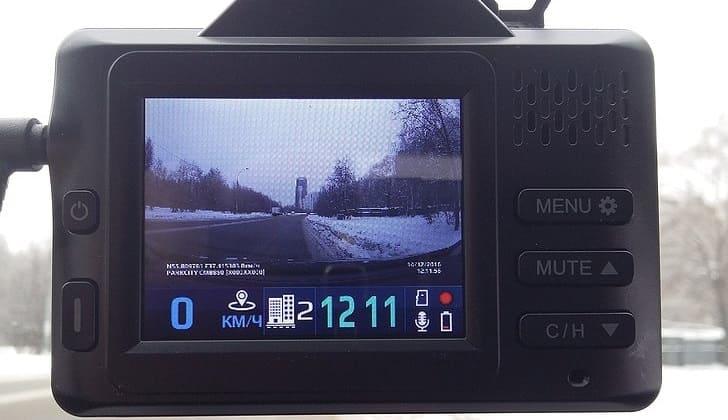 Видеоустройство PARKCITY CMB 850 в работе