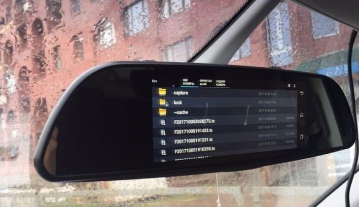 Зеркало-регистратор Parkcity DVR HD 900