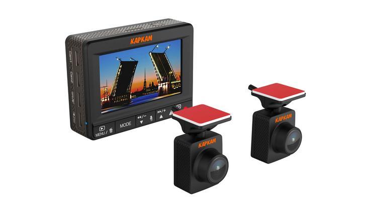 Регистратор с дополнительной камерой