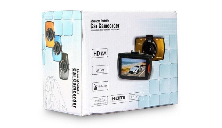 Упаковка видеорегистратора