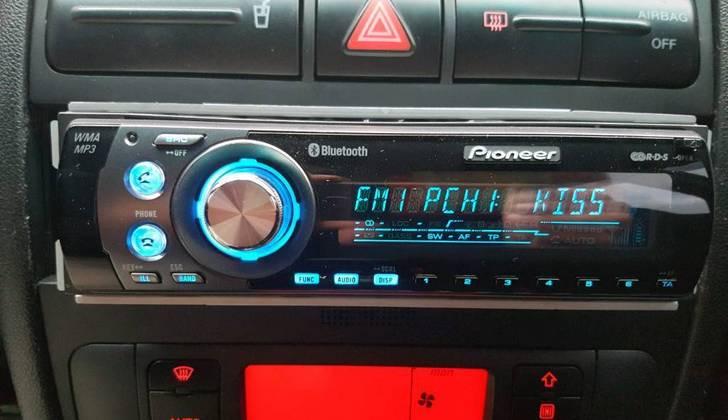Аудиоплеер в автомобиле