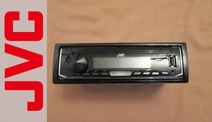 Автомагнитола JVC KD X153