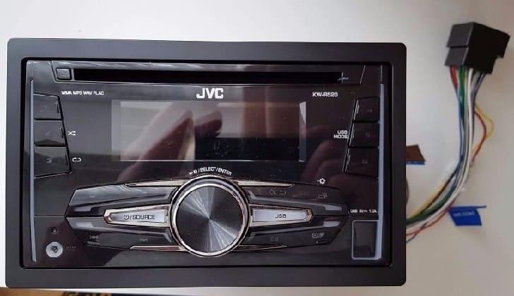 Автомагнитола JVC KW-R520