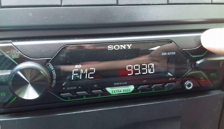 Автомагнитола Sony DSX-A212UI