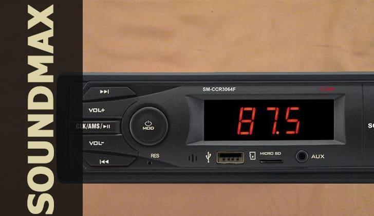 Автомагнитола Soundmax CCR3064F