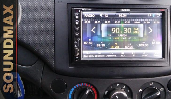 Автомагнитола Soundmax SM-CCR3703G