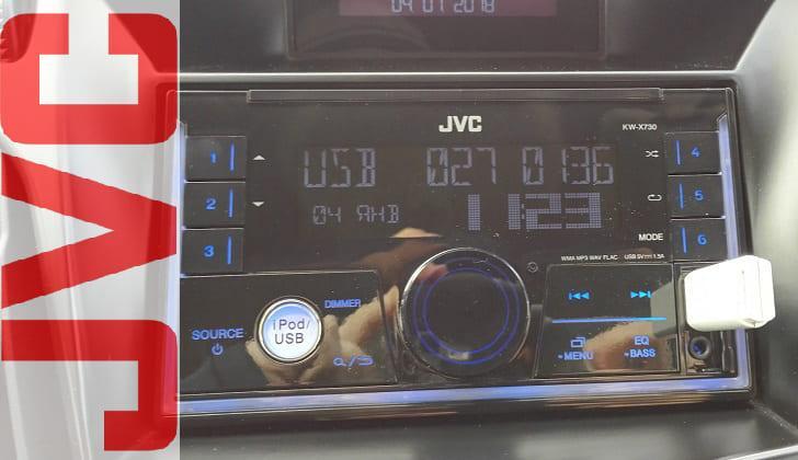 Автомагнитола в машине JVC KW-X730