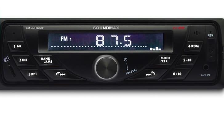 Автомагнитола в режиме радио