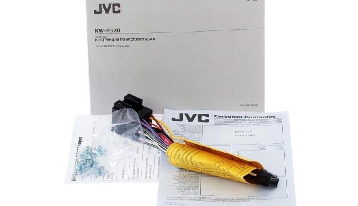 Инструкция JVC KW-R520