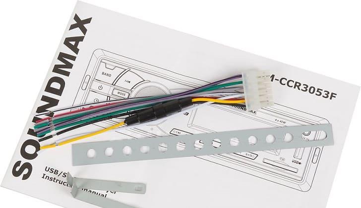 Инструкция Soundmax SM-CCR3053F
