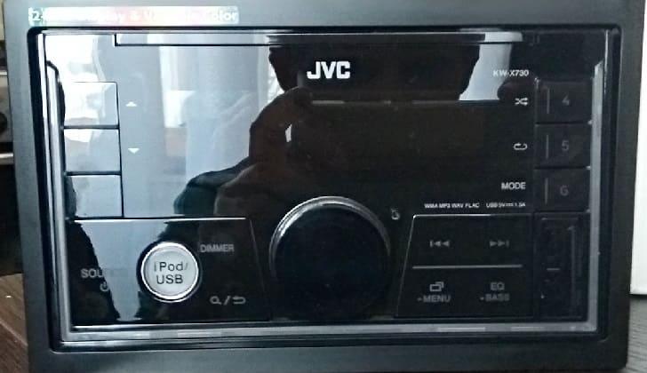 Аудиосистема JVC KW-X730