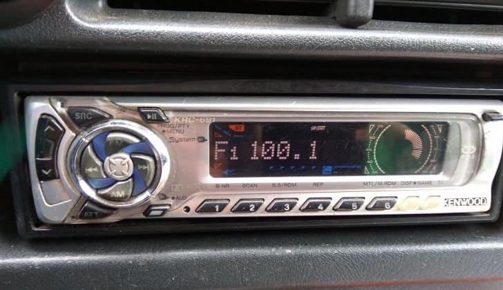 Кенвуд в режиме радио