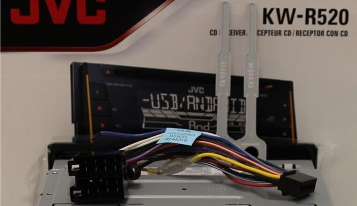Комплектация JVC KW-R520