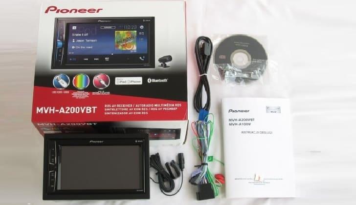 Комплектация Pioneer MVH A200VBT