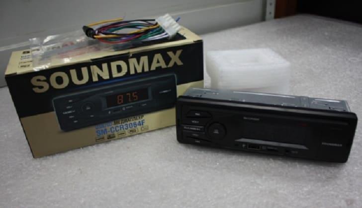 Комплектация аудиосистемы Саундмакс