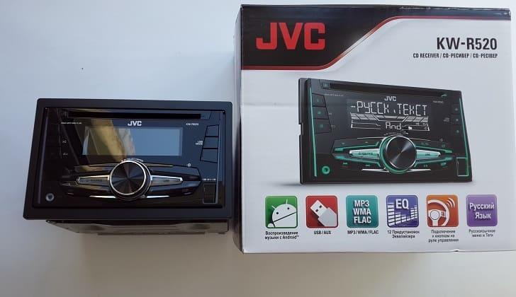Коробка JVC KW-R520