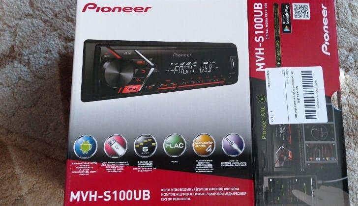 Коробка Pioneer MVH-S10