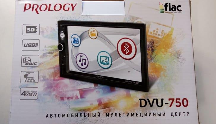 Коробка Prology DVU-750