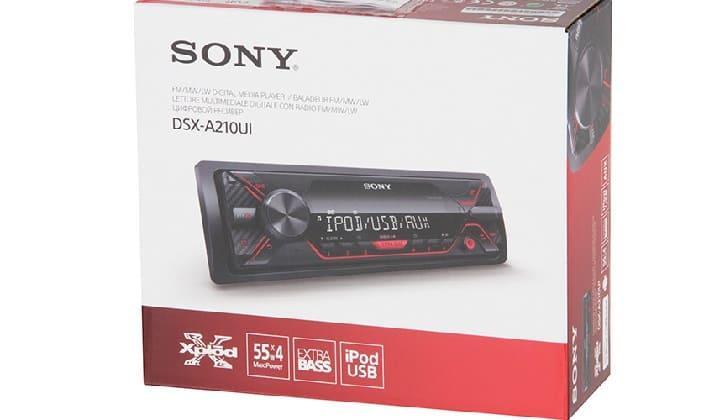 Коробка Sony DSX-A210UI
