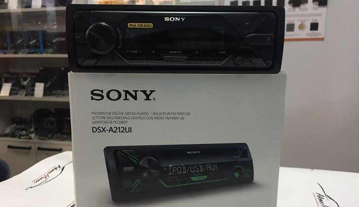 Коробка магнитолы Sony DSX-A212UI
