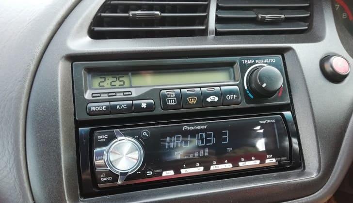 Магнитола в режиме радио