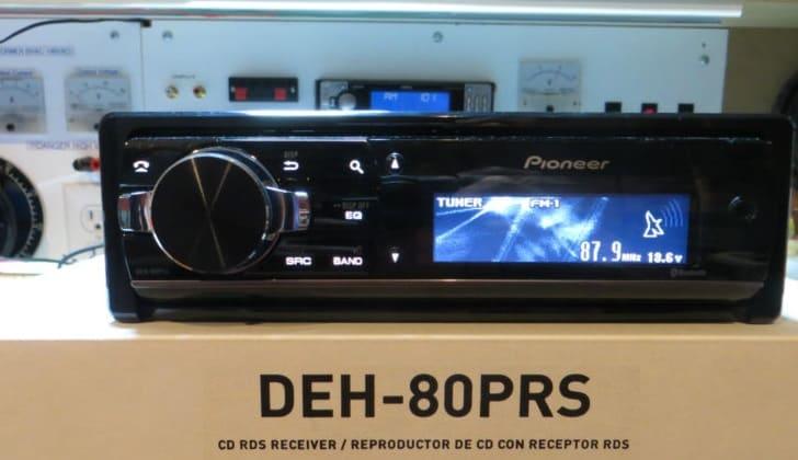 На коробке Pioneer DEH-80PRS