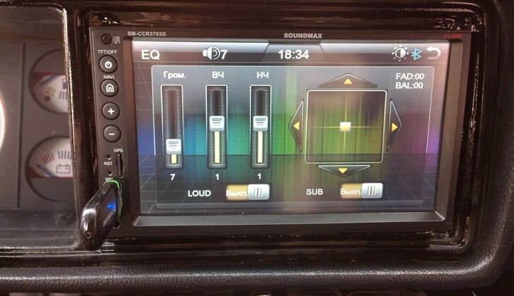 Настройка Soundmax SM-CCR3703G