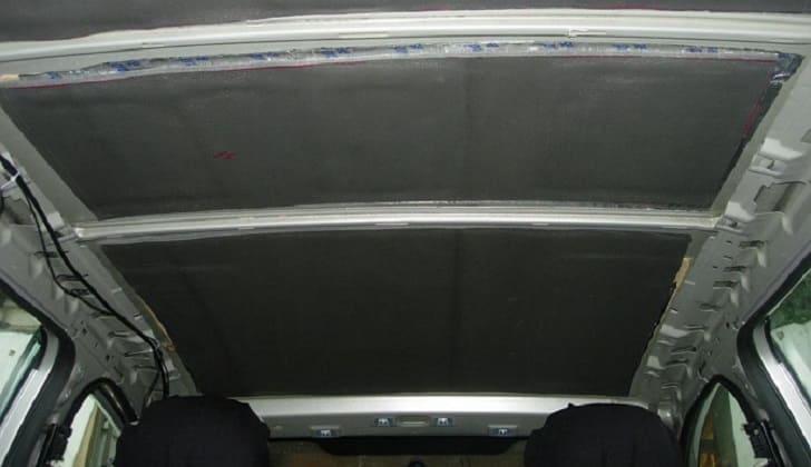 Прокладка телевизионного кабеля в салоне