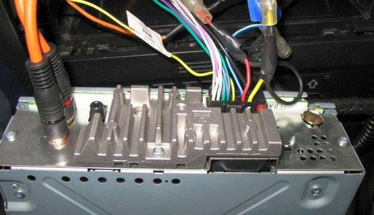 Провода автомагнитолы
