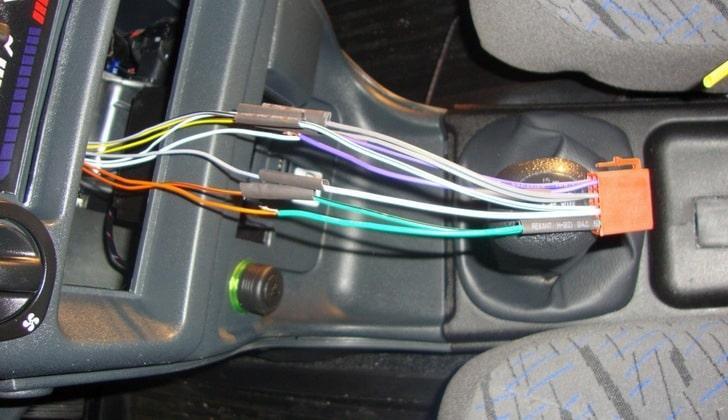 Провода передней панели