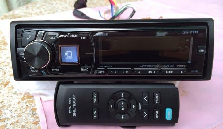 Пульт для управления аудиосистемой